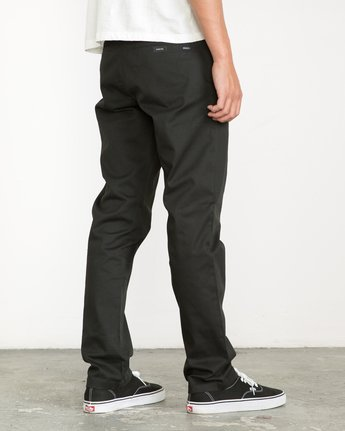 4 Week-end Stretch Pants Black MC303WST RVCA
