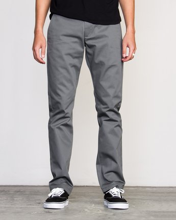 0 Week-end Stretch Pants Grey MC303WST RVCA