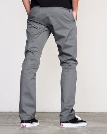 1 Week-end Stretch Pants Grey MC303WST RVCA