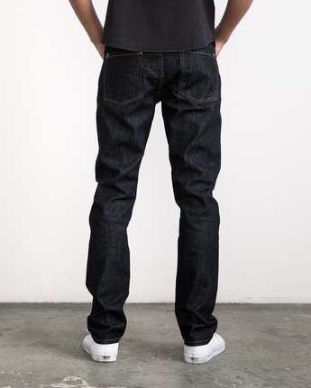 3 Daggers Denim Pants Blue MCDP06DA RVCA