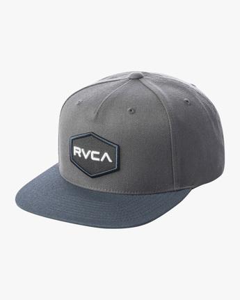 0 COMMONWEALTH SNAPBACK HAT Green MDAHWCWS RVCA
