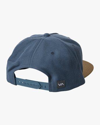 1 COMMONWEALTH SNAPBACK HAT Grey MDAHWCWS RVCA