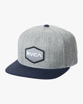 0 COMMONWEALTH SNAPBACK HAT Multicolor MDAHWCWS RVCA