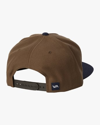 1 COMMONWEALTH SNAPBACK HAT Brown MDAHWCWS RVCA