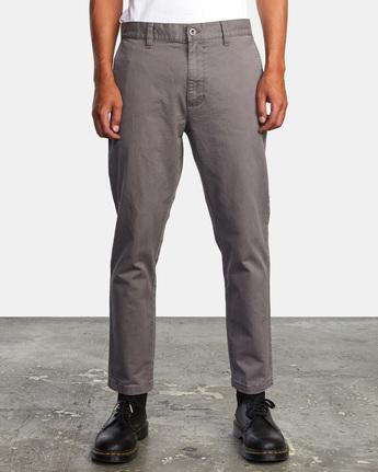 7 HITCHER PANT Grey ME303HIT RVCA