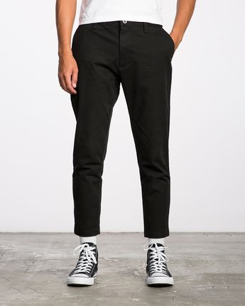 0 HITCHER PANT Black ME303HIT RVCA