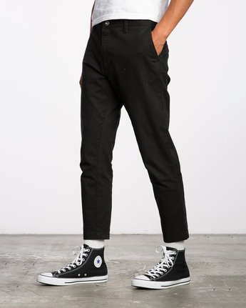 2 HITCHER PANT Black ME303HIT RVCA