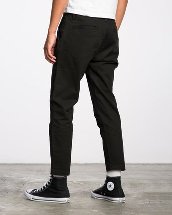 3 HITCHER PANT Black ME303HIT RVCA