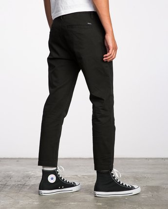 4 HITCHER PANT Black ME303HIT RVCA