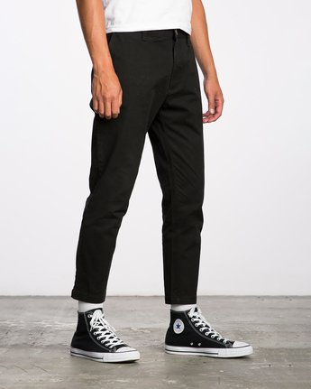 5 HITCHER PANT Black ME303HIT RVCA