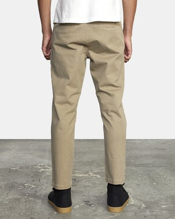 1 HITCHER PANT White ME303HIT RVCA