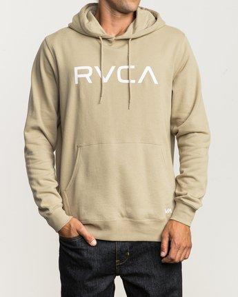 1 Big RVCA Hoodie Green MF70Q00B RVCA