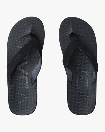 1 Subtropic Sandals Black MFASPSTS RVCA