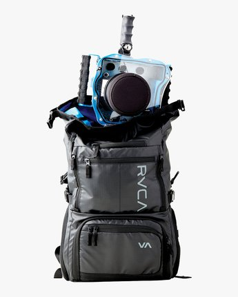 2 Zak Noyle Camera Bag Black MHABKZNB RVCA