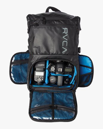 3 Zak Noyle Camera Bag Black MHABKZNB RVCA