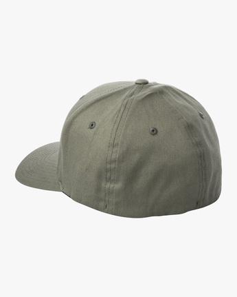 2 RVCA FLEX FIT HAT Green MHAHWRFF RVCA