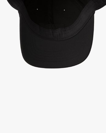 5 RVCA Flex Fit Baseball Hat Black MHAHWRFF RVCA