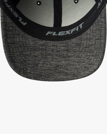 2 RVCA Flex Fit Baseball Hat Grey MHAHWRFF RVCA