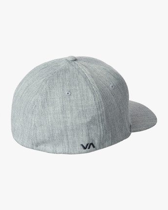 1 RVCA Flex Fit Baseball Hat Blue MHAHWRFF RVCA