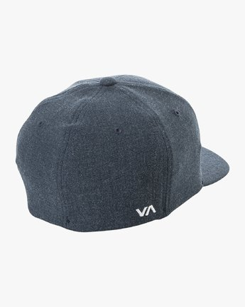 1 RVCA Flex Fit Baseball Hat Blue MHAHWRFF RVCA