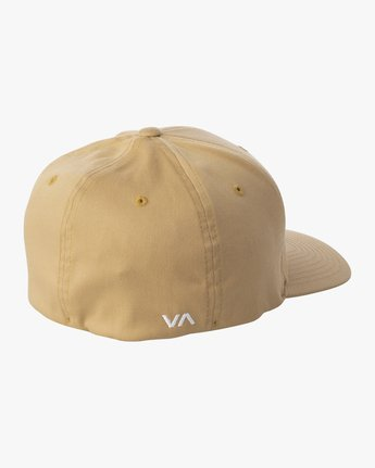 2 RVCA FLEX FIT HAT Purple MHAHWRFF RVCA