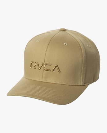 0 RVCA FLEX FIT HAT Purple MHAHWRFF RVCA
