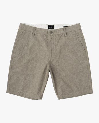 "0 That'll Walk Oxford 19"" WalkShort Green MJ214TWO RVCA"