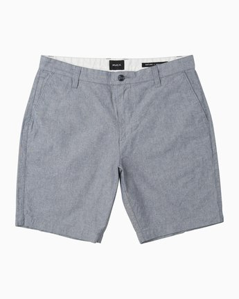 0 That'll Walk Oxford Short Blue MJ214TWO RVCA