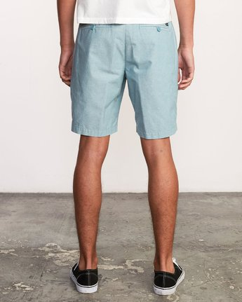 "4 That'll Walk Oxford 19"" WalkShort Blue MJ214TWO RVCA"