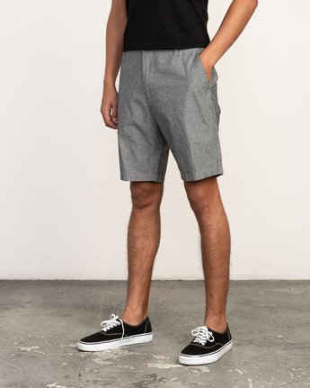 2 That'll Walk Oxford Short Black MJ214TWO RVCA