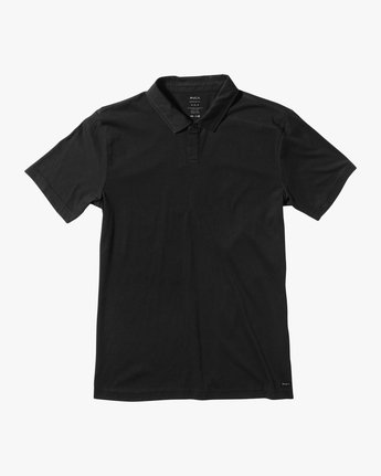 0 Sure Thing II Polo Black MJ922SUR RVCA