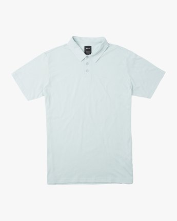 0 Sure Thing II Polo Blue MJ922SUR RVCA