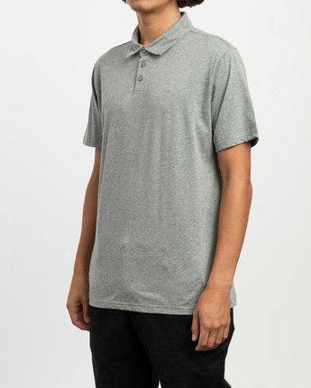 2 Sure Thing II Polo Green MJ922SUR RVCA