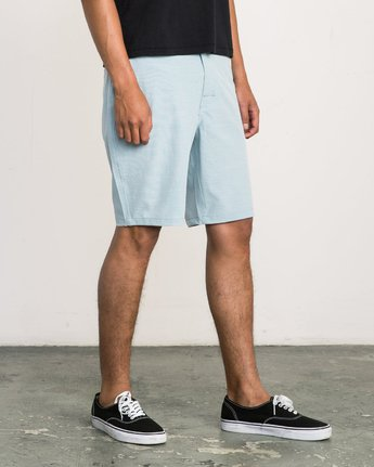 6 Balance Hybrid Shorts Blue MK201BAL RVCA