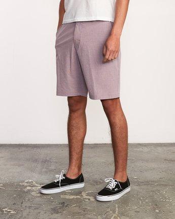 2 Balance Hybrid Shorts Purple MK201BAL RVCA