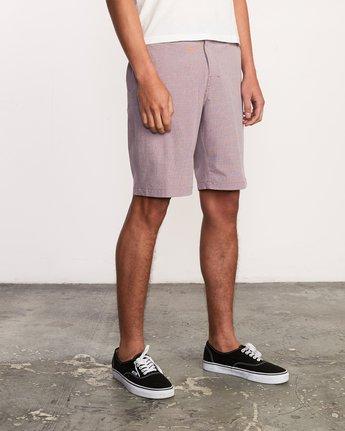 5 Balance Hybrid Shorts Purple MK201BAL RVCA