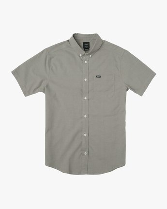 0 That'll Do Stretch Short Sleeve Shirt Brown MK515TDS RVCA