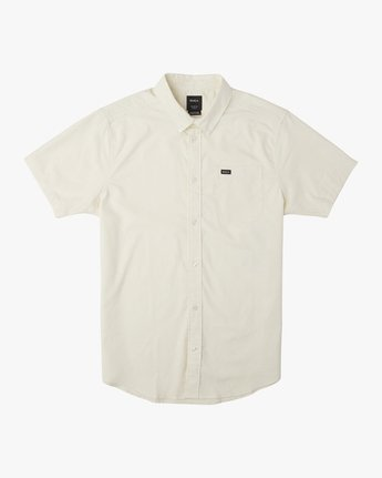 4 That'll Do Stretch Short Sleeve Shirt Yellow MK515TDS RVCA