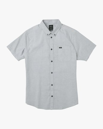 4 That'll Do Stretch Short Sleeve Shirt White MK515TDS RVCA