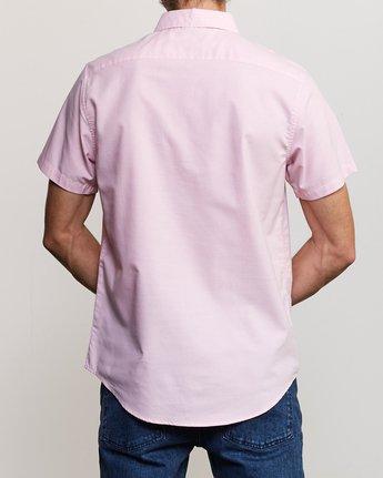 1 That'll Do Stretch Short Sleeve Shirt Pink MK515TDS RVCA