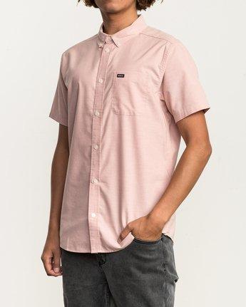 2 That'll Do Stretch Short Sleeve Shirt Brown MK515TDS RVCA