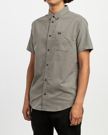 2 That'll Do Stretch Short Sleeve Shirt Brown MK515TDS RVCA