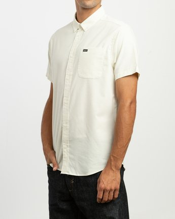 2 That'll Do Stretch Short Sleeve Shirt Yellow MK515TDS RVCA