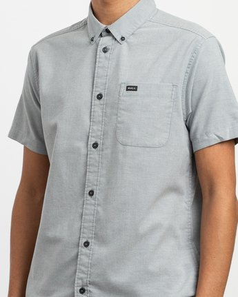 3 That'll Do Stretch Short Sleeve Shirt White MK515TDS RVCA