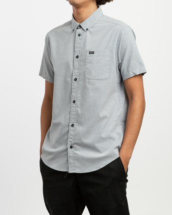2 That'll Do Stretch Short Sleeve Shirt White MK515TDS RVCA