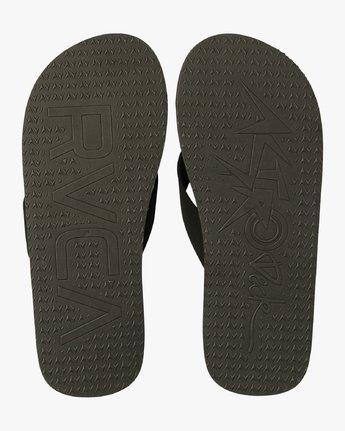 4 Astrodeck Sandal Black MKASPADS RVCA