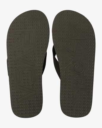 1 Astrodeck Sandal Black MKASPADS RVCA
