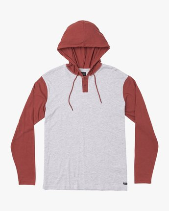 0 Pick Up Hooded Knit Shirt  Brown ML916PIH RVCA