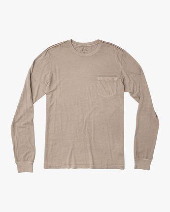 0 PTC Pigment Long Sleeve T-Shirt Multicolor ML921PPL RVCA