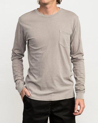 1 PTC Pigment Long Sleeve T-Shirt Multicolor ML921PPL RVCA